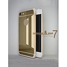 iPhone/Samsung Phone Case Fashion Mirror Surface Classical TPU Phone Cover____三星S6 EDGE PLUS____black