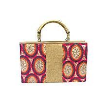Rainbow Sequins Handbag - Gold