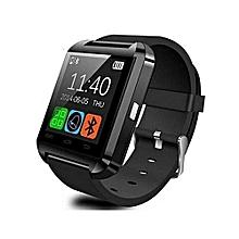 "U8 - 1.48"" - Bluetooth Sports Smart Watch - Black"