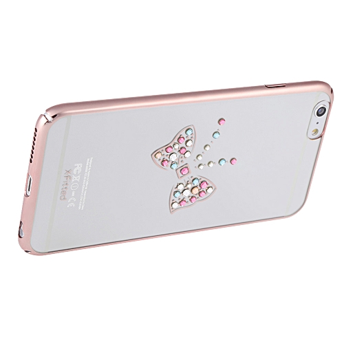 X-fitted Swarovski Electroplating Phone Case Protective Cover Shell for 5 5  Inches iPhone 6 Plus 6S Plus Eco-friendly Material Stylish Portable
