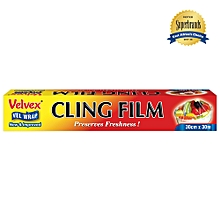 Clear Cling Film - 30cm x 30m -1 Roll