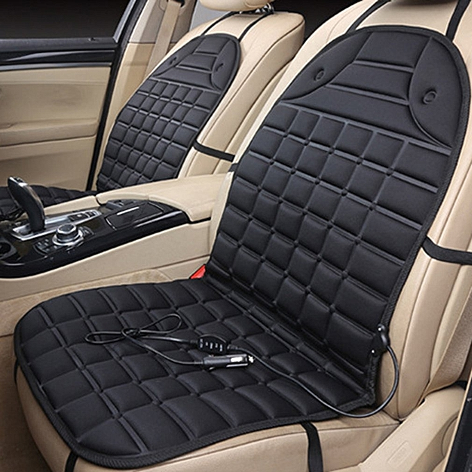 Durable Car Seat Heated Cover 12V Front Heater Auto Winter Warmer Cushion