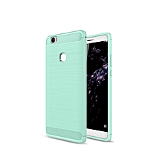 KZ Carbon Fiber Shock Absorption Scratch Resistant Back Cover Flexible TPU Rubber Soft Silicone Full Body Protective Case Cover for Huawei Honor Note 8   XXZ-Z