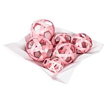 Winston Decoration - Hollow Ball Bag - Pink