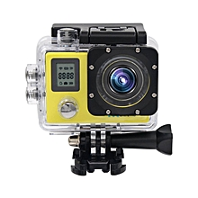 Action Camera Ultra HD 4K 30fps 1080p remote Wifi 30m Waterproof Camera 2.0LCD Double Screen mini Sport Camera DV