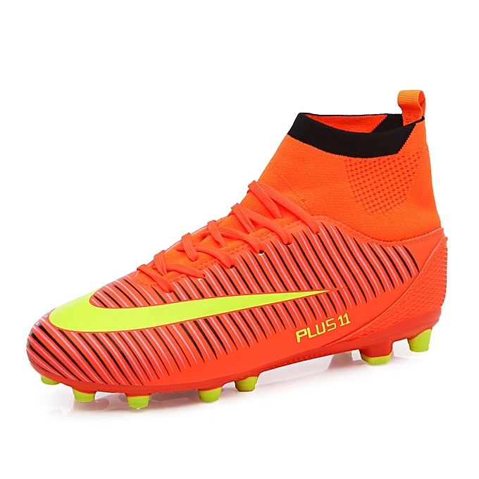 Men Soccer Shoes Football Boots Soccer Cleats Boot Shoes Sports Shoes  Outdoor Indoor Soccer Training Shoes c373265faf98