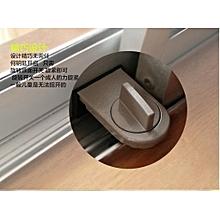 Security Lock Sliding Door Window Safety Lock-Coffee