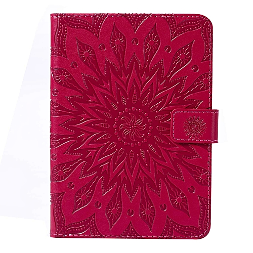 Case for Amazon Kindle Paperwhite,Floral Embossed PU Leather Wallet Stand  Case with Auto Wake/Sleep for All-New Kindle Paperwhite1/2/3/4 (Fits 2012,