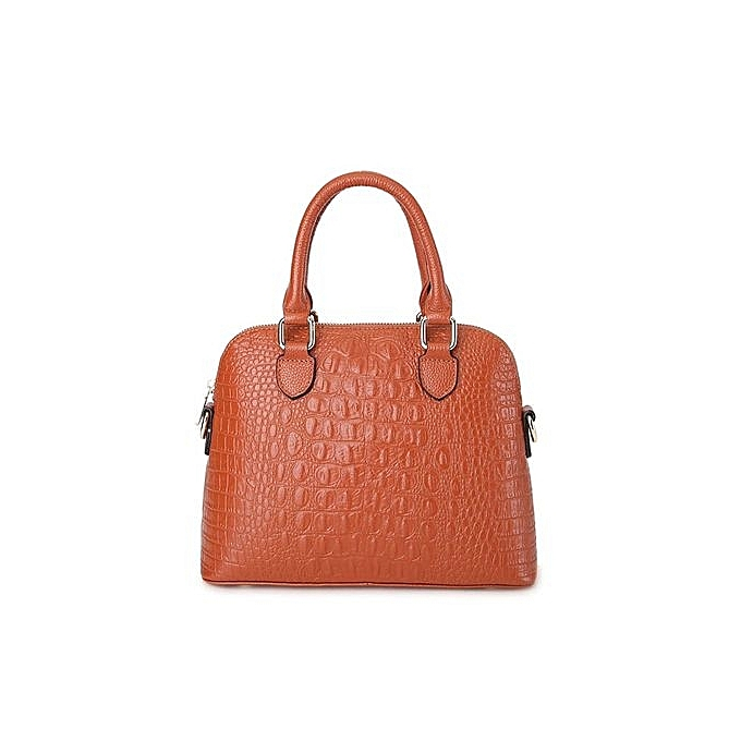 2bbc1d949016 PASTE Women Leather Handbag Medium Tote Bag Luxury Alligator Grain Designer  Handbags Ladies Messenger Bags Leather