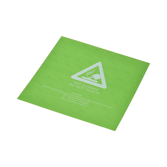 Generic 5pcs 220 220mm Heat Bed Sticker Sheets Hot Bed Build