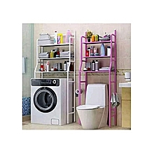 Modern new metal stand or rack with Storage Shelving for toilet, washing and organizing storage