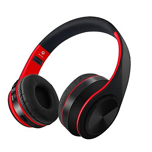Bluetooth Earphones & Headphones The Best Wireless Bluetooth Gaming Headset Foldable Headset Portable Digital Mp3 Music Headphone With Led Flash Lights Support Tf Card