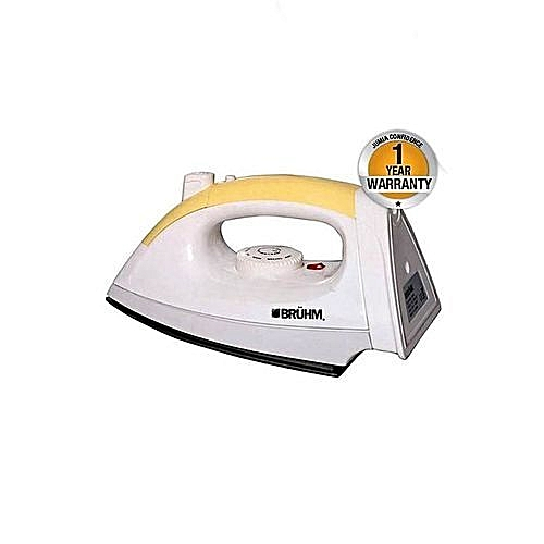 BDI-S3 - Dry Iron - White & Yellow.