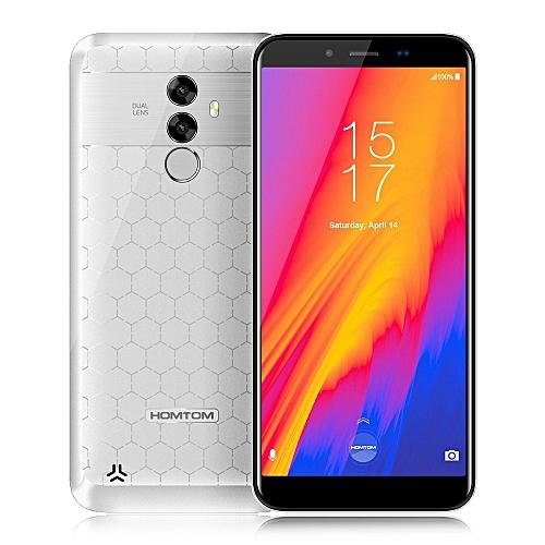 HOMTOM S99 4G Phablet 5.5 inch Android 8.0 MTK6750-WHITE