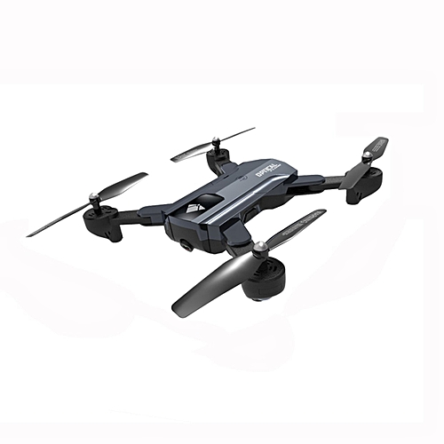 GB F196 Optical Flow Foldable Quadcopter RC Drone with 2MP Camera 1100mAh Battery-gray
