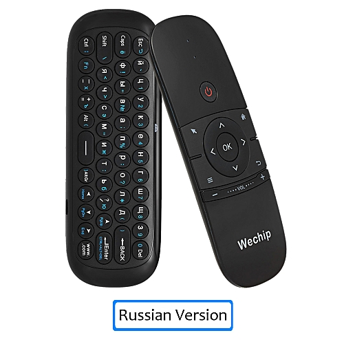 d2b5c18398d Generic WeChip W1 2.4G Air Mouse Keyboard 6-Axis Motion Sense IR Smart  Remote Control USB Receiver for Smart TV Android TV BOX WOEDB