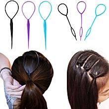 Hair Bun Maker Multifunctional Hair Accessories for Women Plate Pull Pins Styling Holder Quick Dish Headband