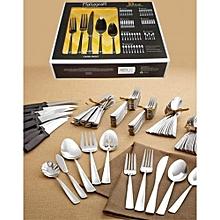 53 Piece - Cutlery Set - Silver