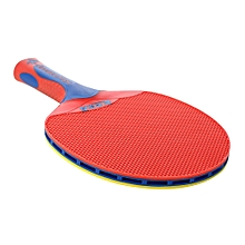 Double fish plastic table tennis single bat table tennis racket
