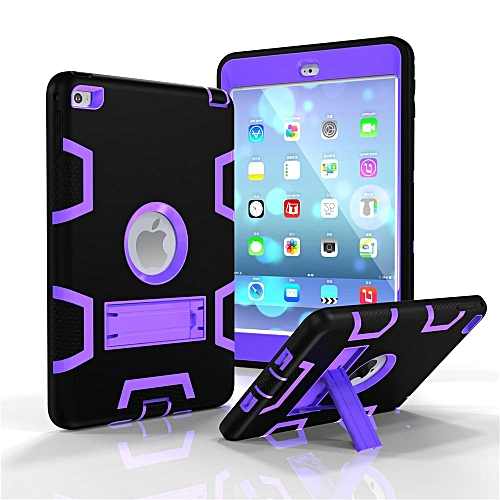 quality design f8cf0 6eb96 Apple iPad MINI 4 Case Full Body Shockproof Waterproof Dust-proof Hybrid  Kickstand Protective Case with Screen Protector for iPad MINI 4 CHD-Z