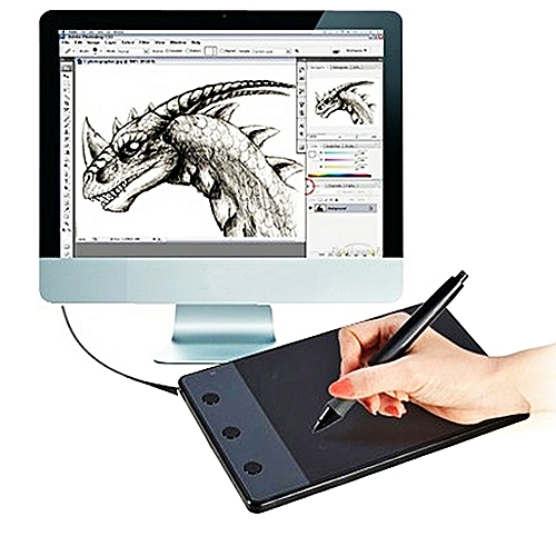 HUION H420 Computer input Device 4 17 x 2 34 inch 4000LPI Drawing Tablet  Drawing Board with Pen