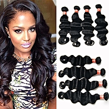 1 Bundle Black Brazilian Virgin Body Wave Hair Human Hair