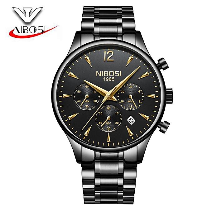 9e0b1ae4a24 Relogio NIBOSI Quartz Analog Watch Men Luxury Classic Mens Watches Top  Brand Luxury Chronograph Watches Relogio