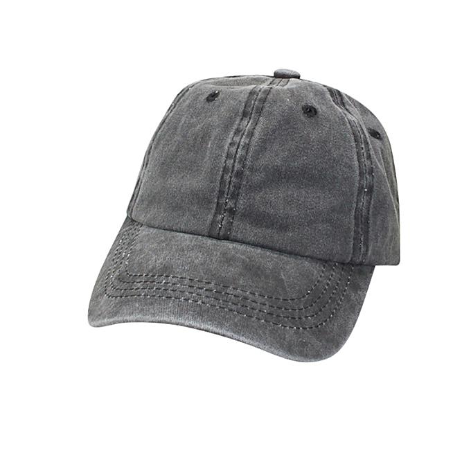 5f000d8e41f5c Hiaojbk Store Toddler Baby Kids Solid Cotton Sanpback Baseball Hat Boy Girls  Hats Caps -Dark