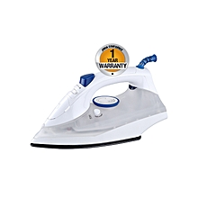 AIR-26SB2 - King Size Steam iron with Spray - 2200W - Non-Stick Sole Plate - White