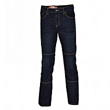 Dark Blue Mens Pannel  Denim Pants