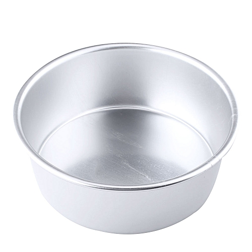 2 Alloy Removable Bottom Round Cake Baking Mould Pan Tin Mold Bakeware Tray
