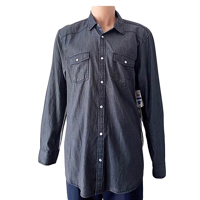 e05aee874d Inc-co MEN S DENIM SHIRT.SIZE M AMERICAN SIZE   Best Price
