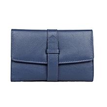 ladies leather purses/wallets - Dark Blue