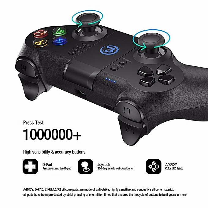 GameSir T1s Bluetooth Gaming Controller Wireless Gamepad for Android  Smartphone Tablet/ PC Windows/ Steam/ Samsung VR/ TV Box DNSHOP