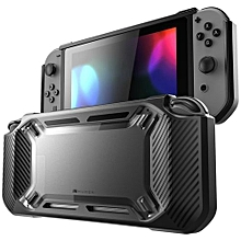 2018 Slim Rubberized Snap On Hard Case Cover For Nintendo Switch Black
