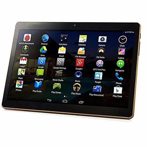9.6 Inch 3G Android 5.1 Slim Tablet PC 1280x800 IPS Screen Quad Core 1GB RAM 16G-Black