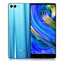 Refurbish HOMTOM S9 Plus 4G Smartphone 5.99 inch Android 7.0 MTK6750T Octa Core 1.5GHz 4GB RAM 64GB ROM Support OTG Fingerprint-BLUE