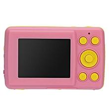 2.4HD Screen Digital Camera 16MP Anti-Shake Face Detection Camcorder Blank Point And Shoot Camera Digital Portable Cute Child(Pink)