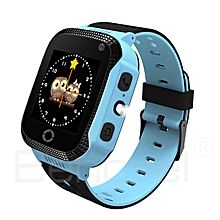 Children Boys and Girls Base Station Positioning Wrist Smart Watch Gift-Array