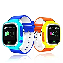 Smart Baby Watch Touch Screen Positioning Smart Watch Children SOS Call Location Finder Device Anti Lost Reminder Pink
