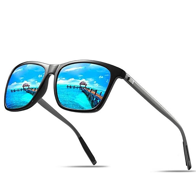 ea46991adac Grace New men and women polarized sunglasses trend colorful series-black