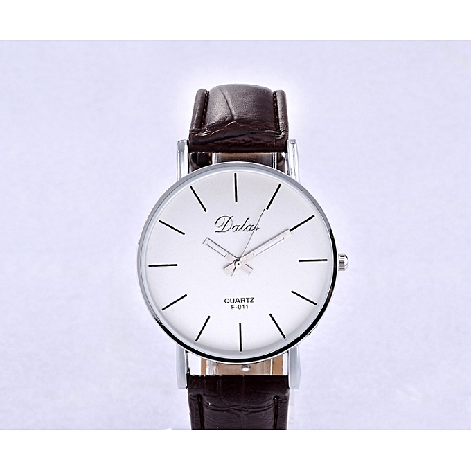 Nice New Watch Fashion Casual Ladies Watch Simple Watch Brown