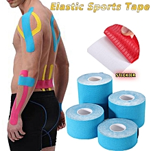 6PCS Rocktape Kinesiology Elastic Sports Tape Physio Running Football CrossFit 7.5cmX5m