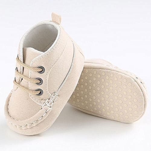 a625832bd YiQu bluerdream-Baby Toddler Soft Sole Leather Shoes Infant Boy Girl  Toddler Shoes BG 11-Beige