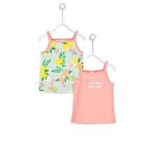 Multicoloured Fashionable Top Set