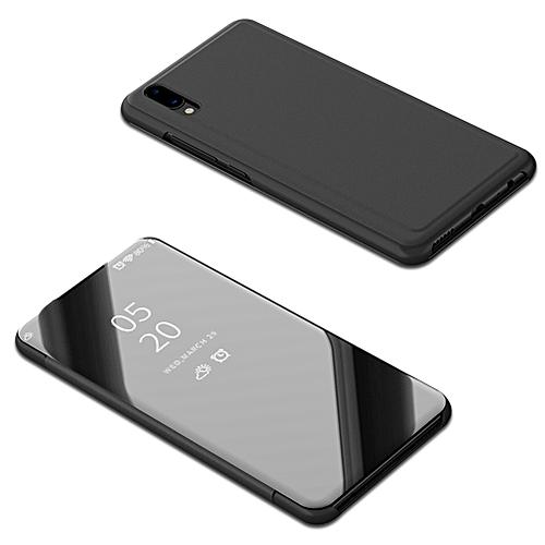Vivo V11 Case,Luxury Translucent View Mirror Case Flip Electroplate Stand  Smart Cover for Vivo V11 (V11 Pro) 6 41