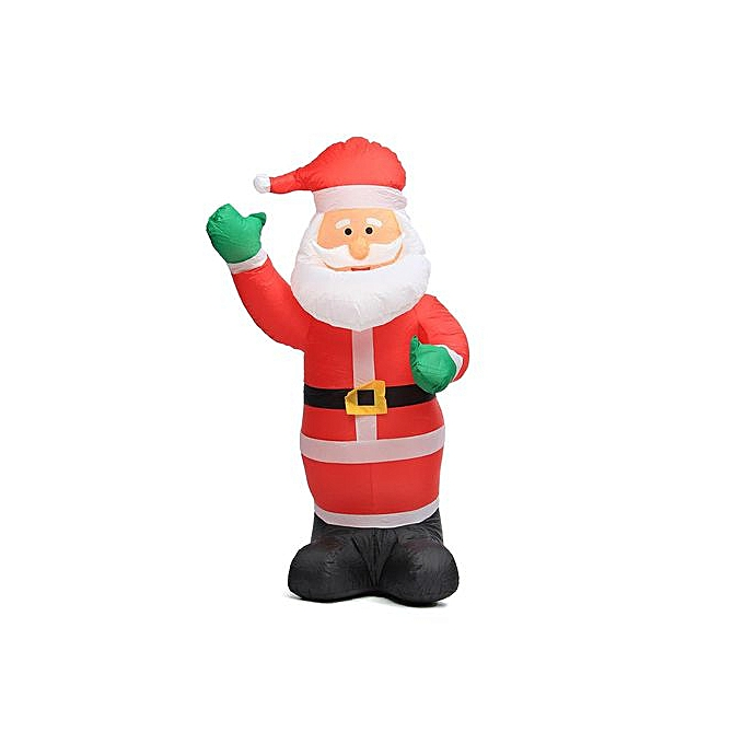 Generic Large Inflatable Santa Snowman Outdoor Airblown Xmas