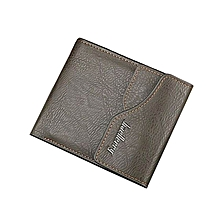 Elegant Executive Men Leather Wallet -jungle green