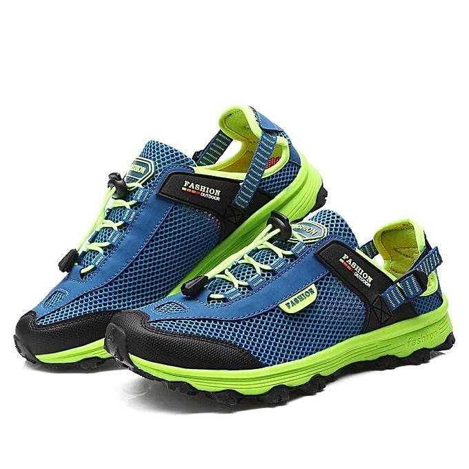 11e6ce5d5f3 2018 Mens and Women Outdoor Adventure Hiking Shoes Anti Collision  Waterproof Trail Climbing Mountain Sport Sneakers for Mountaineer Lelaki  Mendaki ...