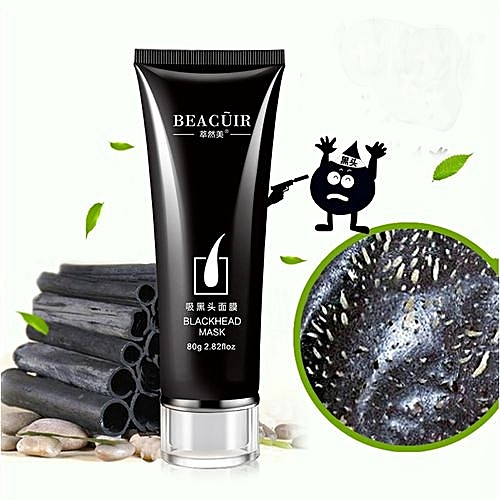 Technologg Beauty Black Mud Deep Cleansing Purifying Peel Off Facail Face Mask -black